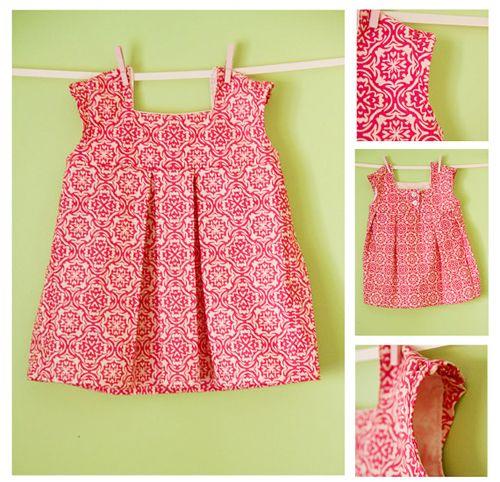 Girls dress pattern - Sadie Easter dress inspiration