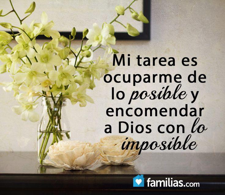 Deja que Dios haga los imposibles