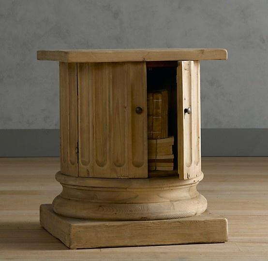 Restoration Hardware Salvaged Wood Architectural Column