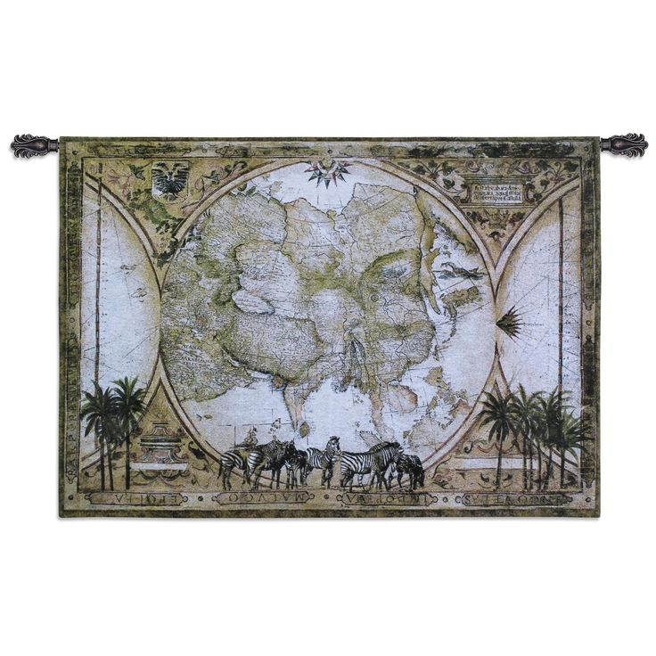 Fine Art Tapestries 'Tropic of Capricorn' Wall Tapestry
