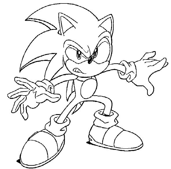 14 Simple Coloriage Sonic Boom Photograph Coloriage Sonic Coloriage Dessin A Colorier