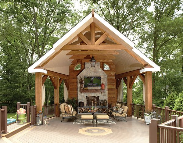 A Basking Ridge Homeowner Designs An Outdoor Structure For The Family To Enjoy