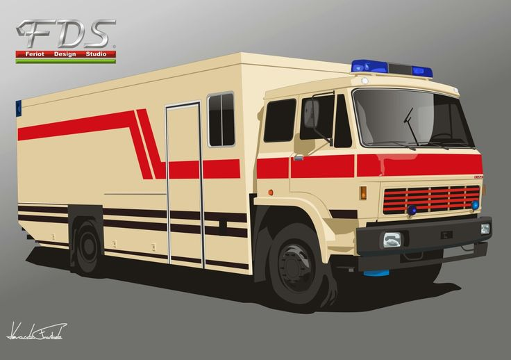 Liaz 110 MUT Ambulance