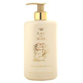 Sisley-Paris Eau de Soir Bath Gel by Sisley-Paris. Save 8 Off!. $79.97. SISLEY Eau Du Soir Perfumed Bath and Shower Gel. **No U.S. Sale Tax** 8.4 oz / 250 ml. New in Box. Bathe in FemininityEau de Soir is a celebration of charm and femininity. Take in this signature scent as your bathe this with perfumed bath and shower gel, which leaves skin satin smooth and deliciously scented.Mild, conditioning formula that won't dry skinConvenient, ozone-friendly pump dispenser Delicat...
