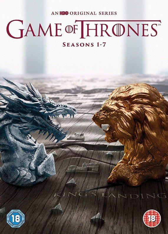 Dvd Game Of Thrones 1 7 Seasons Etsy In 2021 Game Of Thrones 1 Season 1 Hbo Original Series