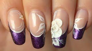 Tartofraises nail art - YouTube