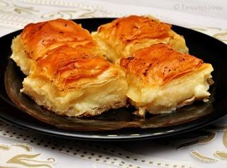Food Middle East/North Africa - Eten Midden Oosten/Noord Afrika (Turks/Laz böreği)