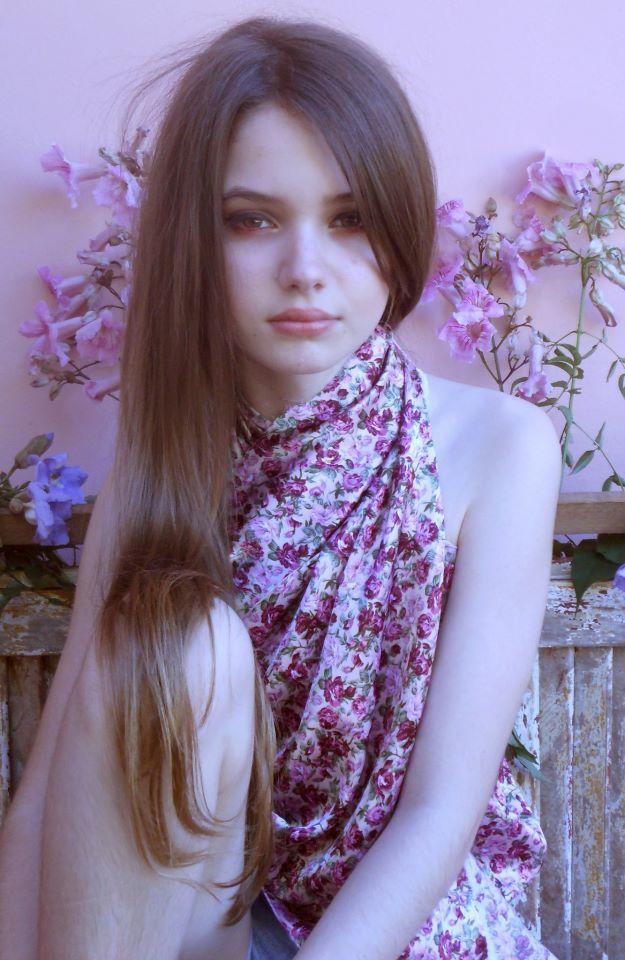Monique Bourscheid ~ Brazilian model #Kids #Fashion #Pink #Doll #Vogue