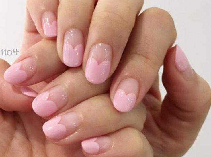 nail art - valentine's
