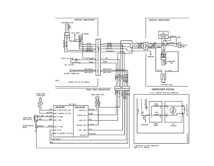 Moto Mirror Wiring Diagram Unique In 2020 Kenmore Refrigerator Frigidaire Gallery Refrigerator Frigidaire