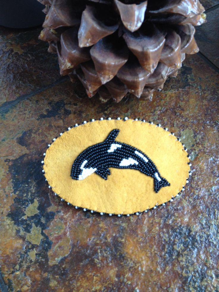 A personal favorite from my Etsy shop https://www.etsy.com/listing/275183698/orca-whale-barrette