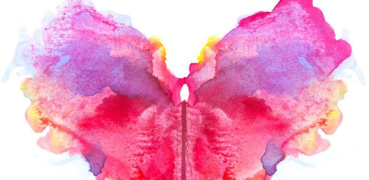 Teste de Rorschach: O que você vê na mancha de tinta?