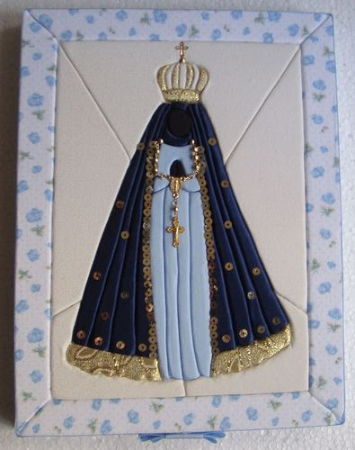 patchwork embutido-Nossa Senhora Aparecida | Flickr - Photo Sharing!