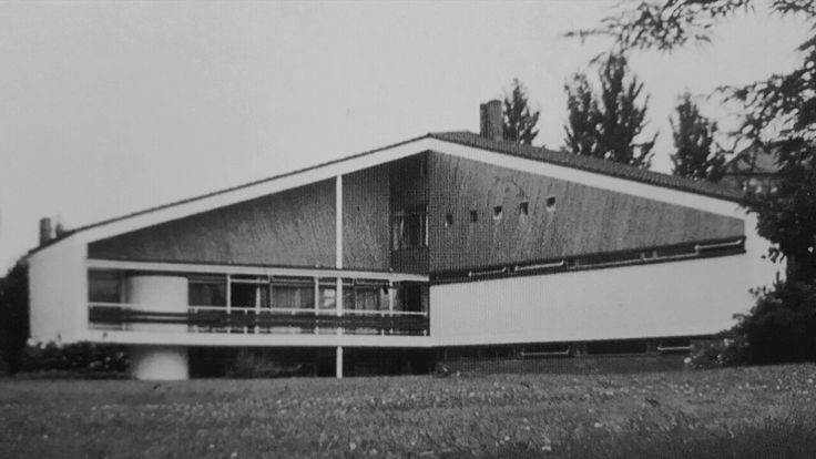 House Fischer (1961) in Bühl, Germany, by Paul Stohrer