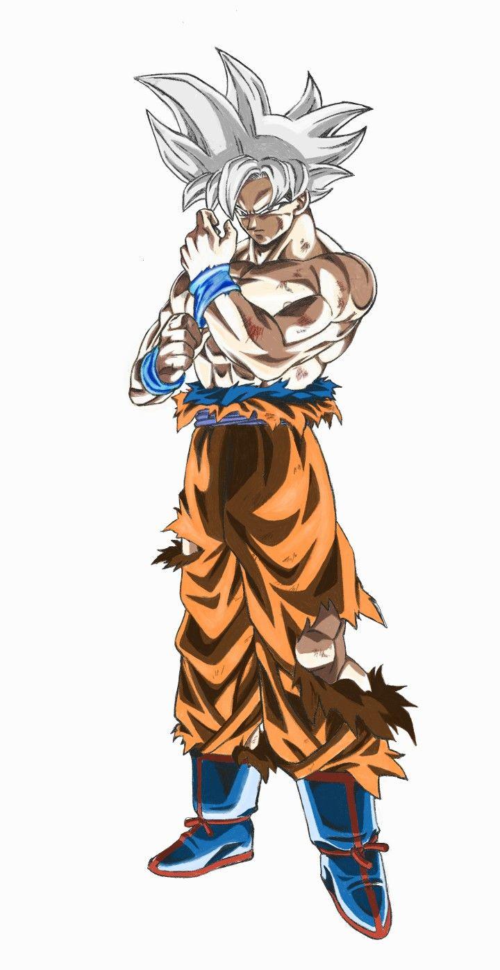 Goku Mastered Ultra Instinct Dragon Ball Gt Dragon Ball