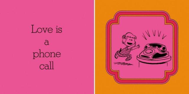 電話がなること/愛とは、電話が鳴ることだ。