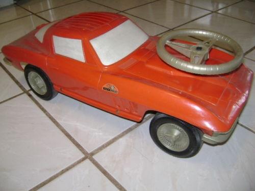 1960's Corvetter Stingray 427 Turbo Ride-on. My Grampi Farrell got this for me one Christmas!