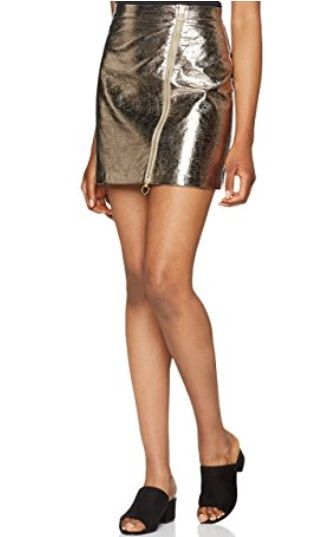 Falda dorada #Amazonmoda #Modamujer #Moda2017/2018 #Falda #Outfit #fashion #Shopping #Gold