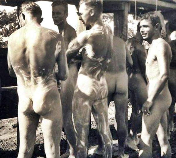 Men Bathing Nude 59