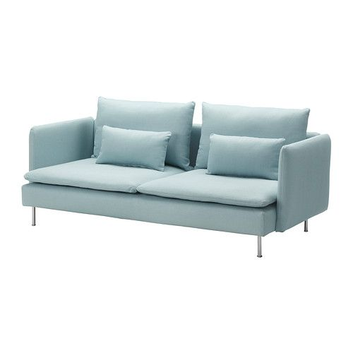 the colour? the shape? it could totally be the one.   SÖDERHAMN Sofa IKEA A seating series with sections that can be connected in different ways or used as solitaires; combine as you like.