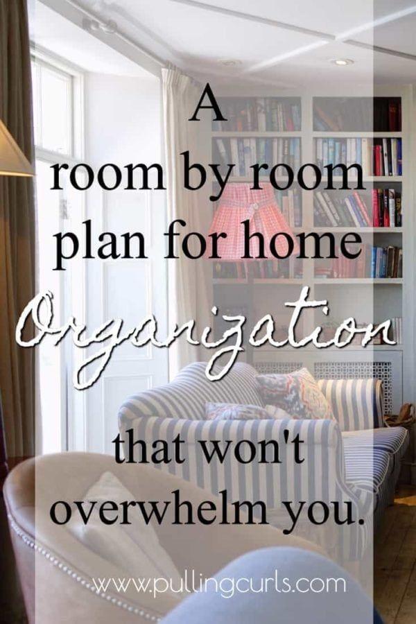Home Organization Ideas Living Room Organization