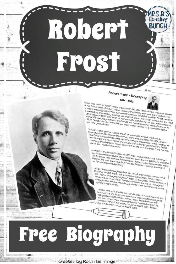 robert frost achievements