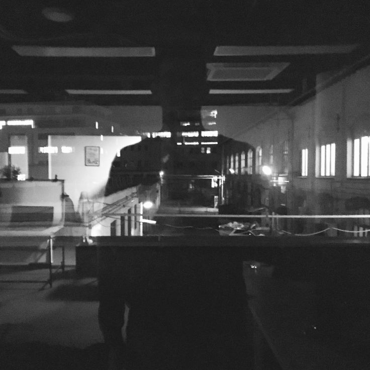 #window #reflection #mirror #office #night #over #end #selfie #lights #factory #ground #bnw #blacknwhite #bnwhungary #bnw_life #budapest #hungary #asif #doubleexposure