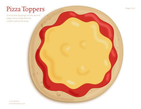 Printable Toddler Activity: Pizza Toppers (Printable Activity for Kids) | Spoonful