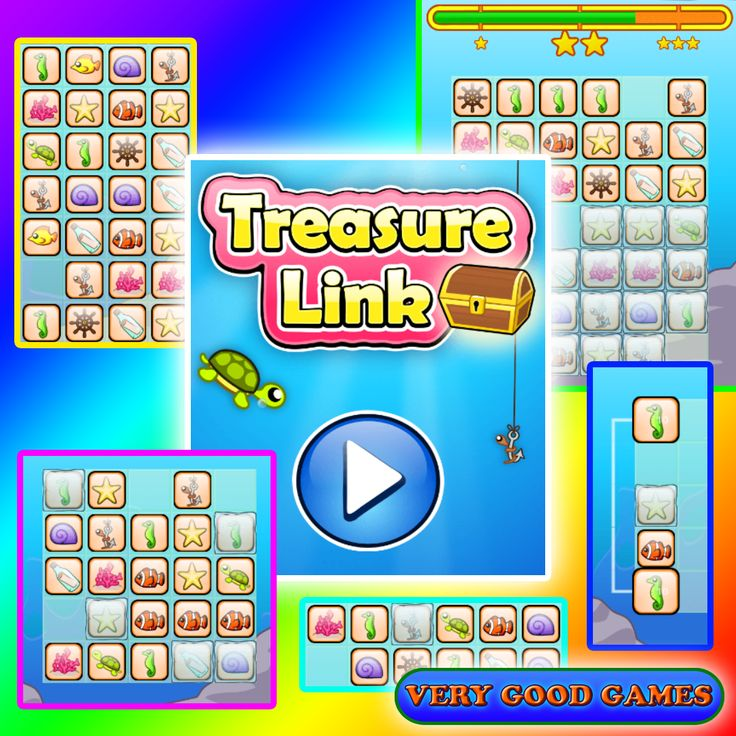 Treasure Link - free online puzzle game
