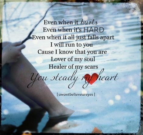my heart will lyrics: