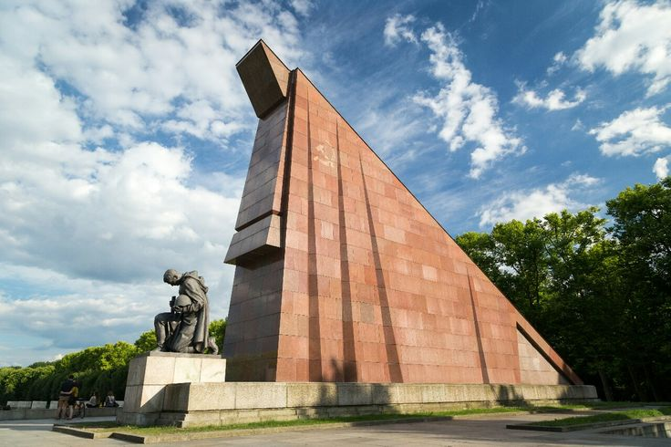 If youre ever in Berlin one unusual thing to check out is the Stalin-era Soviet War Memorial. This is just a small part of it- its grandiose! When Germany was reunified there was a condition that all Soviet memorials would remain and so there it is. A really interesting part of 20th Century history.