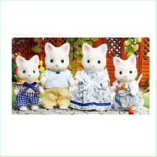 Sylvanian Families Silk Cat Familly - Green Ant Toys http://www.greenanttoys.com.au/shop-online/sylvanian-families/sylvanian-families-animal-families/silk-cat-family/