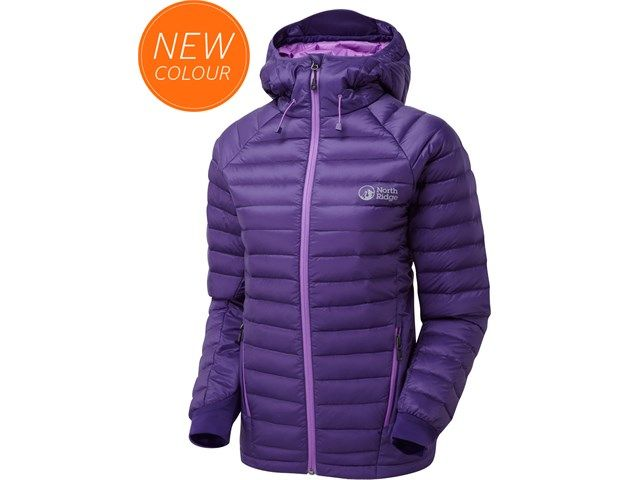 A very comfortable winter jacket filled with hydrophobic down, to keep you warm even if it gets wet.