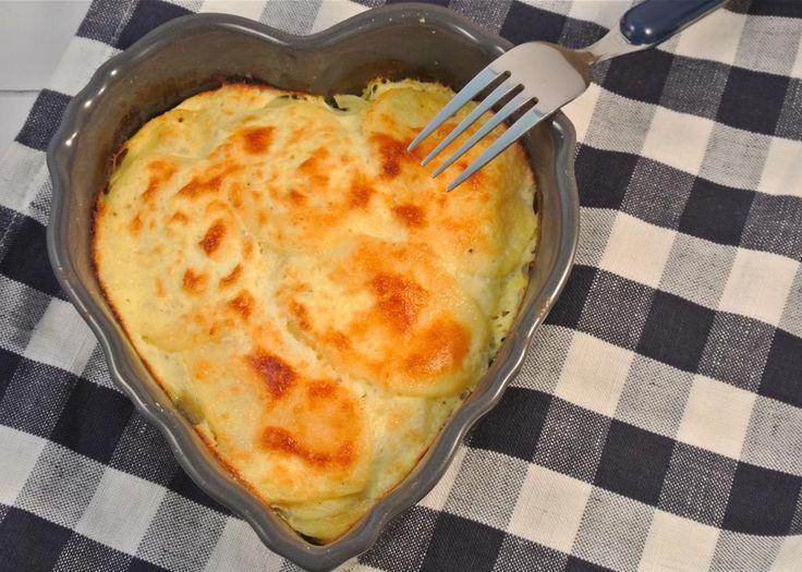 De slankere variant op de aardappelgratin - Lekker en Simpel