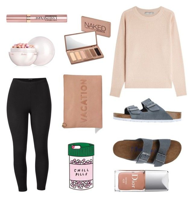 """""""laid back"""" by mpemberton on Polyvore featuring Venus, ban.do, Vince, Birkenstock, Madewell, Guerlain, Urban Decay, L'Oréal Paris, Christian Dior and plus size clothing"""