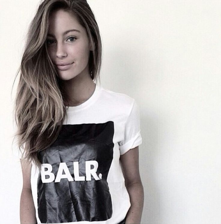 Mathilde Goehler again in BALR. gear!