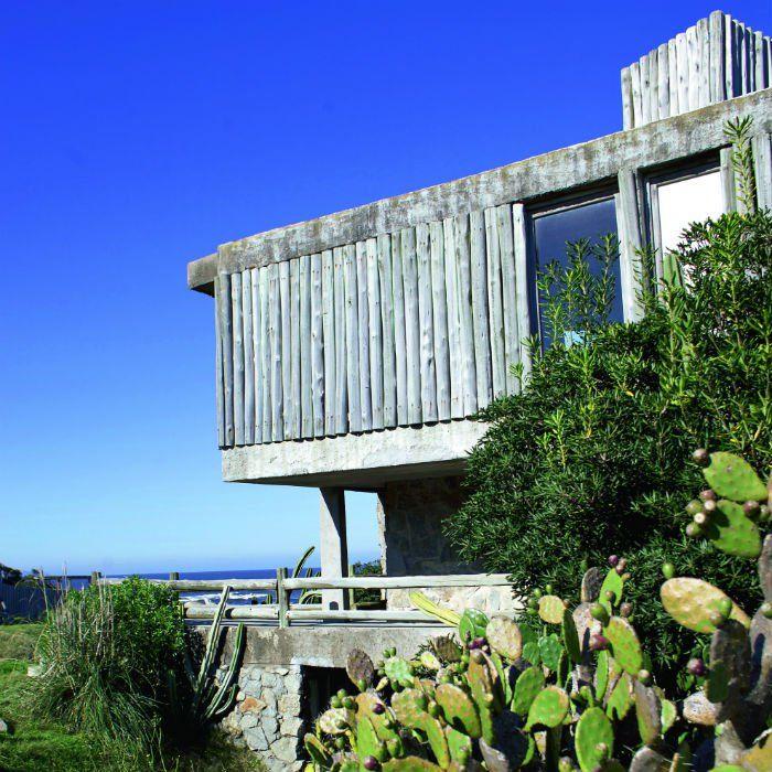 Uruguay : une des villas d'architecte avec vue sur la mer à José Ignacio