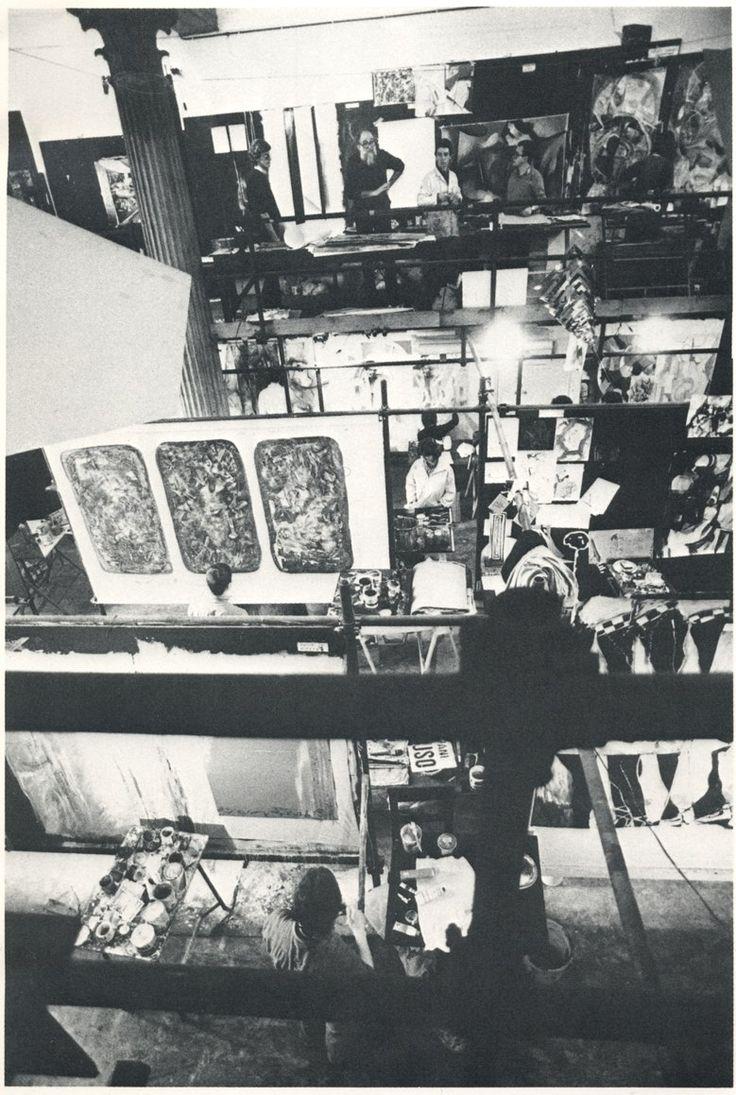aula pittura Emilio Vedova