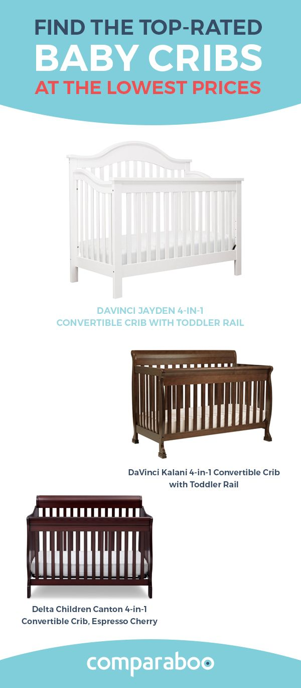 One of the most important thing in a nursery is the baby crib. It keeps your baby safe and helps with a good night's sleep. Comparaboo collected all the data to find only the best baby cribs on the web. Explore your option on our website. www.comparaboo.com | @comparaboo