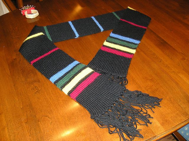Ravelry: House Unity Scarf pattern by Danielle Smith - Free Pattern