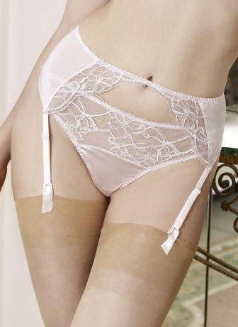 Rose Lace Thong