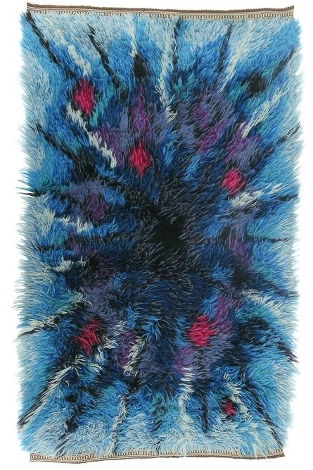 Thick Hand-Knotted Pile Rug via SCANDINAVIAN MODERNISTS. Click on the image to see more!