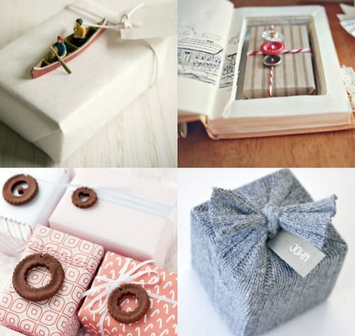 73 best gift wrapping ideas images on pinterest gift ideas holiday gift wrap negle Choice Image