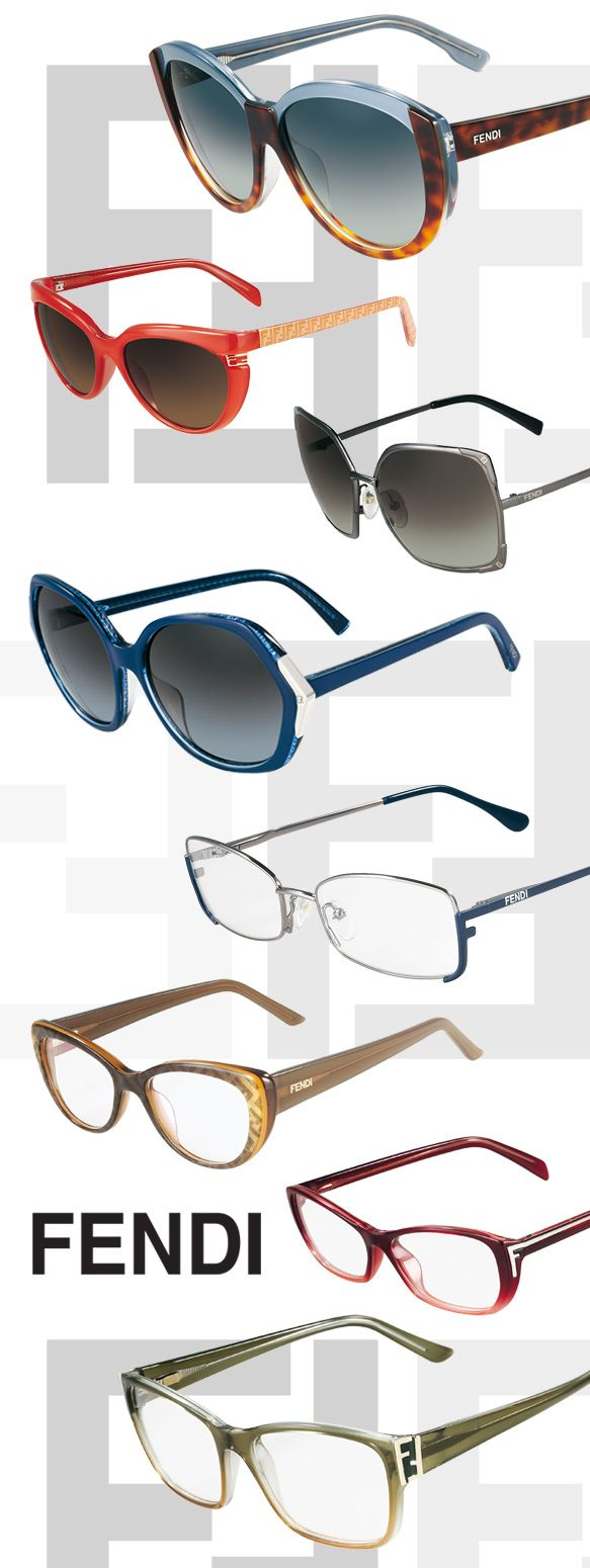 Fall in love with FENDI eyewear.#sunglasses #eyewear #madeinitaly
