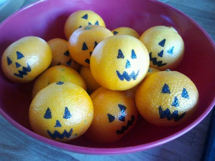 DIY gezonde Halloween traktatie