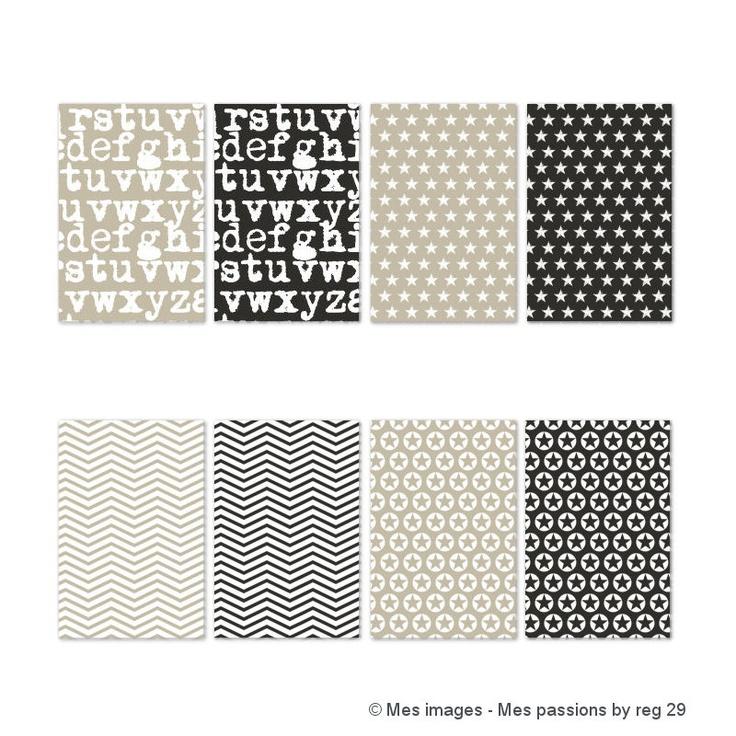 DIGITAL SCRAP : Papier Imprimable A4