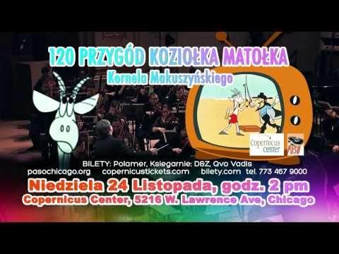 PaSO Koziolek Matolek - November 24 at the Copernicus Center in Chicago http://copernicuscenter.org/120-przygod-koziolka-matolka/