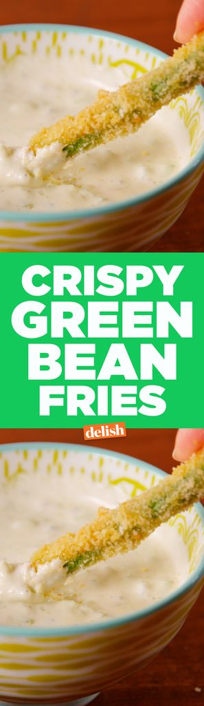 If You Love TGI Friday's, You'll Freak Out Over These Crispy Green Bean Fries   - Delish.com