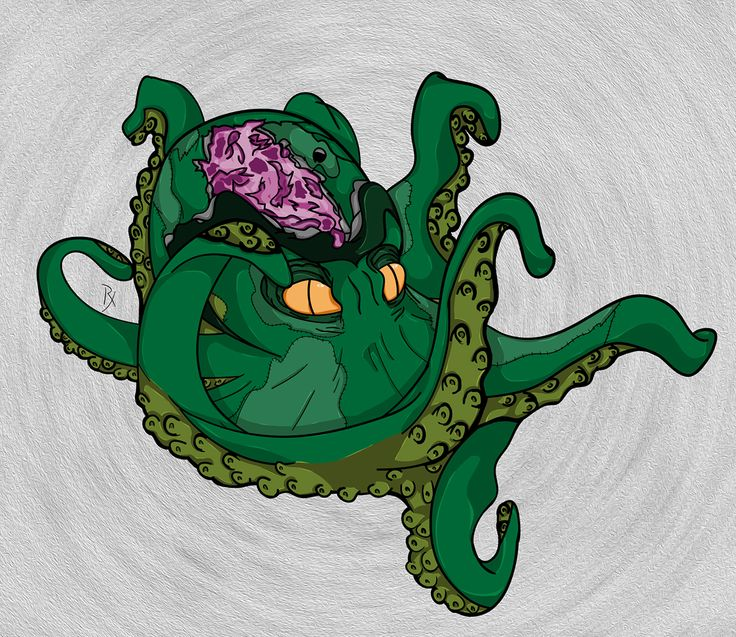 Undead Octopus!