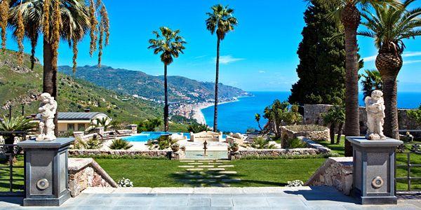 The Ashbee Hotel, Taormina, Sicily Hotel Reviews | i-escape.com